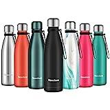 Newdora Trinkflasche Edelstahl Thermosflasche BPA-frei Auslaufsicher Vakuumisolierte Sportflasche...