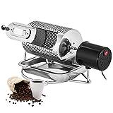 HRRH Kaffeeröster,40 watt heimgebrauch Kaffeebohne Röster Maschine, Edelstahl Kaffeebohnen...