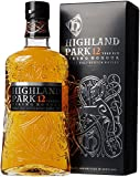 Highland Park 12 Jahre Viking Honour Single Malt Scotch Whisky (1 x 0.7 l) – vollmundiger,...