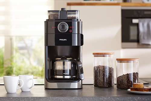 Philips Grind and Brew HD7766 Kaffeemaschine mit Mahlwerk Test