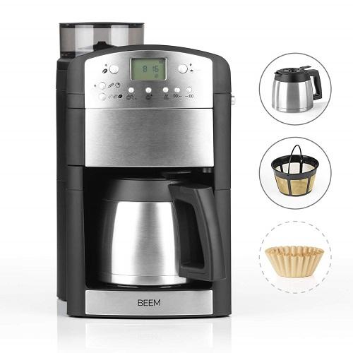 Beem Kaffeemaschine mit Mahlwerk Thermolux