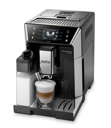 DeLonghi PrimaDonna Class ECAM Kaffeevollautomat mit Mahlwerk