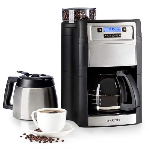 Klarstein Aromatica Kaffeemaschine mit Mahlwerk