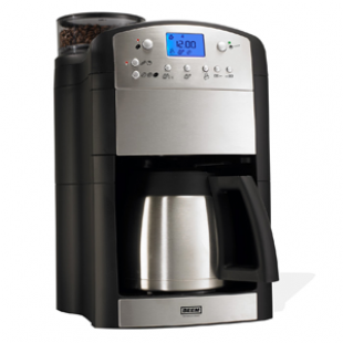 BEEM Germany Fresh-Aroma-Perfect Deluxe Kaffeemaschine mit Mahlwerk, Thermoskanne und Timer