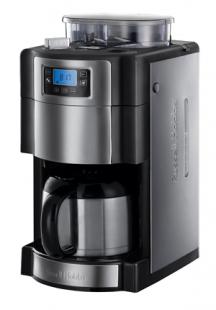 Russell Hobbs Buckingham 21430-56 Grind und Brew Digitale Thermo-Kaffeemaschine mit integriertem Mahlwerk